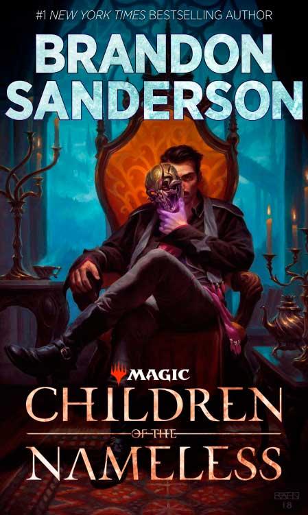 Capa de Children of the Nameless | Brandon Sanderson | Wizards of the Coast LLC,