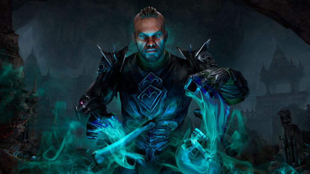 O Necromante | The Elder Scrolls Online: Elsweyr | ZeniMax Media Inc. | novo capítulo (expansão) do MMORPG da franquia Skyrim, Oblivion, Morrowind da Bethesda